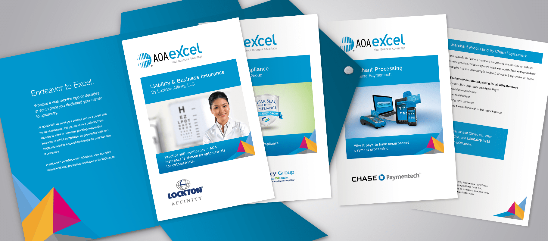 AOAExcel one-sheeter designs