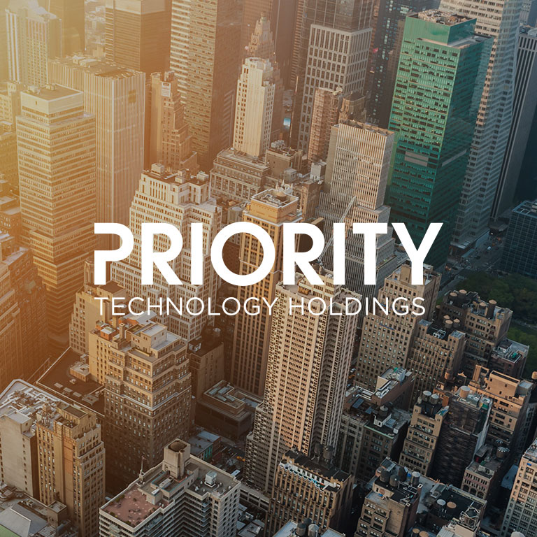 graphic of Priority Technology Holdings brand square